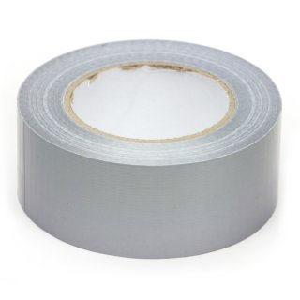 50m Gewebeband 50mm Silber